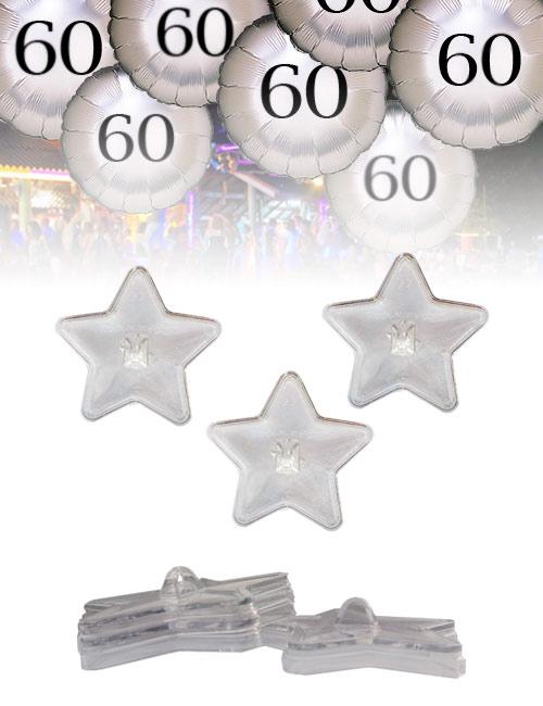 Poids en formde d'étoiles pour ballons