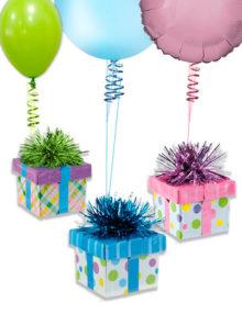 Poids pour ballons en forme de Cadeaux