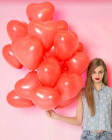 Bouquets de ballonsen forme de Coeur