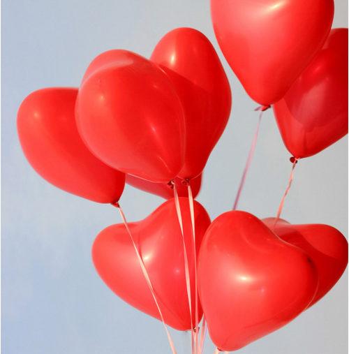 Ballons Festivités Coeur 25 ballons