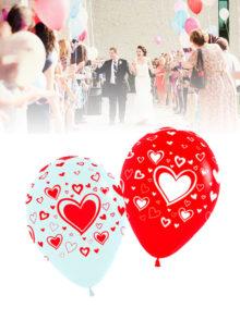 Ballon Festivités desing coeur