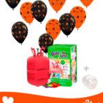 20 Ballon Halloween 30 cm + Hélium Mini · Pack Halloween Mini