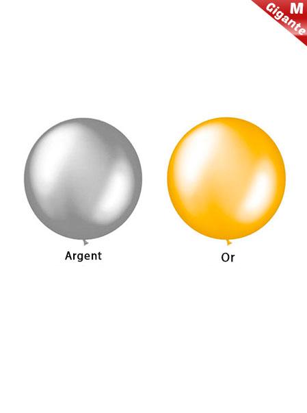 Ballons Géants en latex Metallique de 100 cm Pesonnalisé