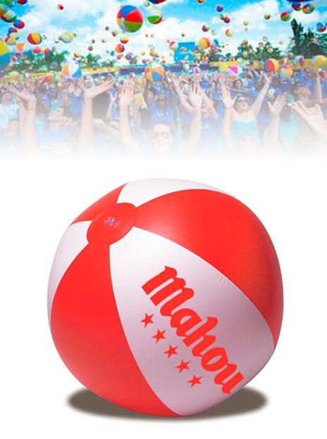 Ballons de Plage Personnalisés Quartier 40 cm