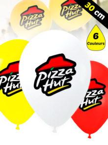 Ballons de Baudruche de 30 cm Personnalisé à 6 Couleurs