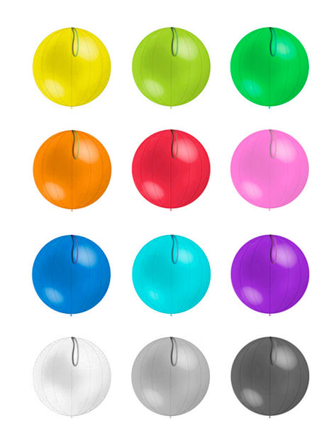 punchball personalizados colores