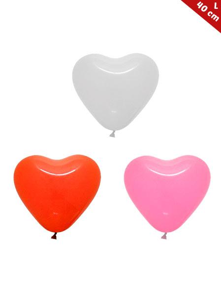 Globos Corazón Personalizados Latex 40 cm