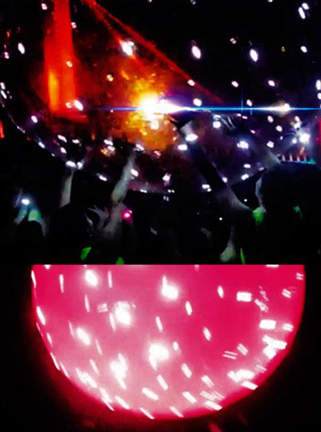 Pelotas LED Grande Luz con cada Golpe