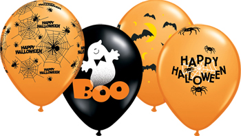 ballon personnalise halloween
